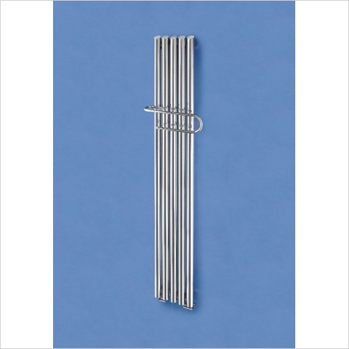 Bisque Radiators - Quill Towel Radiator 1500 x 230mm - SS Mirror