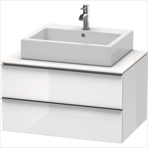Duravit Furniture - Happy D.2 Vanity Unit For Console - White High Gloss