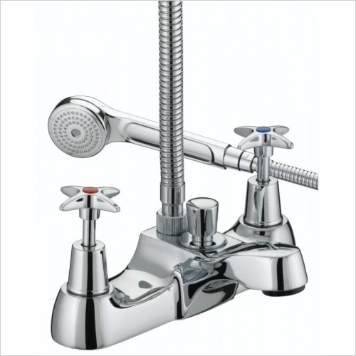 Bristan Showers - 5412 X Head Bath Shower Mixer