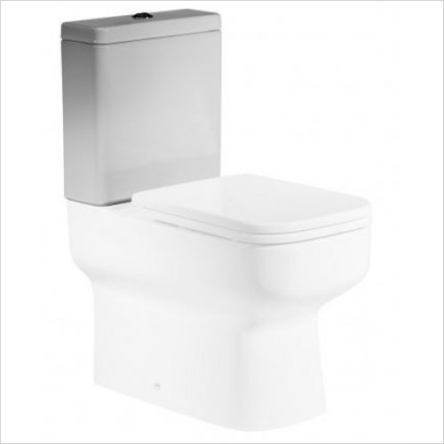 Roper Rhodes Toilets - Geo Close Coupled WC  Toilet Pan
