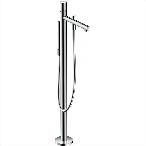 Axor Showers - Uno Floorstanding Single Lever Bath Mixer Zero Handle