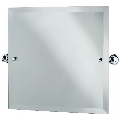 Perrin and Rowe Accessories - Traditional Square Mirror 500 x 500mm