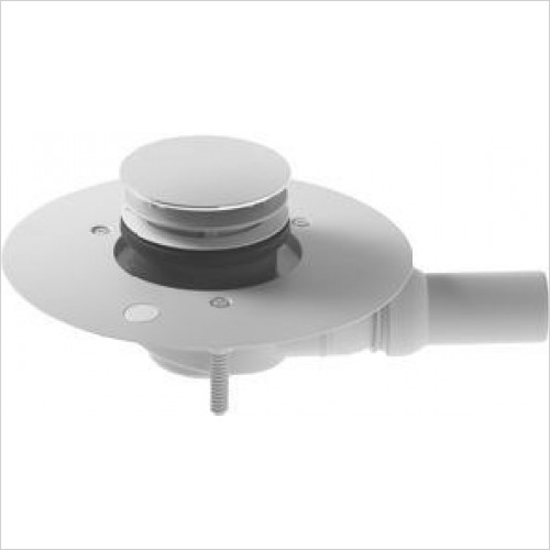 Duravit Showers - Outlet Drain For Flush Fitting Shower Tray Horizontal Outlet
