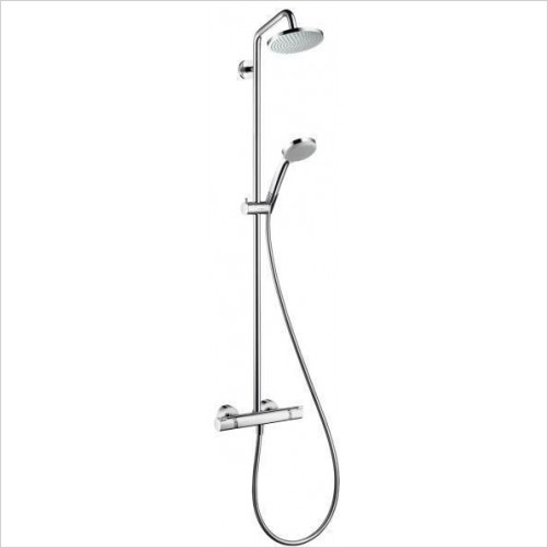 Hansgrohe Showers - Croma 160 Overhead Shower pipe With Shower Arm 270mm