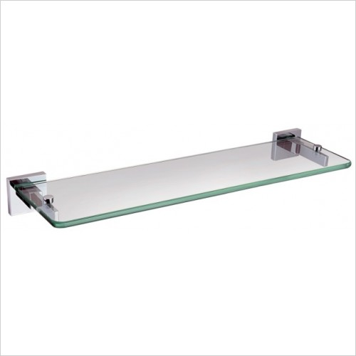 Bristan Accessories - Square Glass Shelf