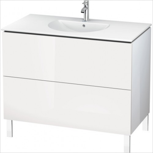 Duravit Furniture - L Cube Vanity Unit Freestanding 1020, F 049910, 2 Drawer