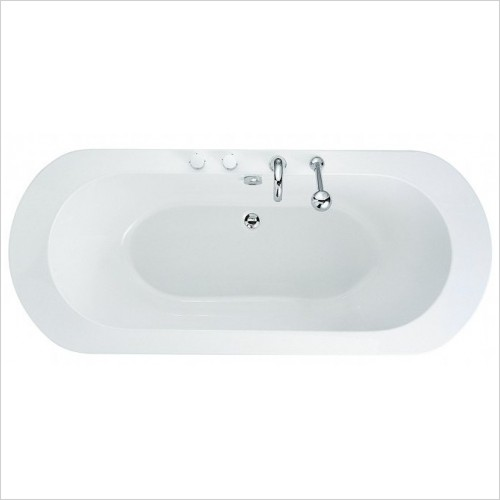 Adamsez Baths - Status Inset Bath 1950x830mm