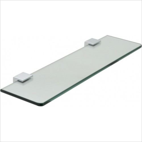VADO Accessories - Phase Frosted Glass Shelf 450mm (18'')