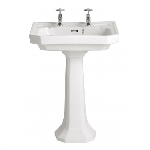 Heritage Basins - Granley Deco Basin 2TH