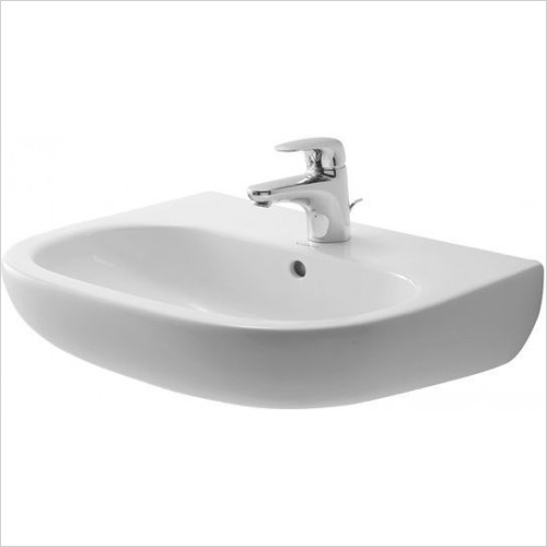 Duravit - Basins - D-Code Washbasin 550mm 3TH