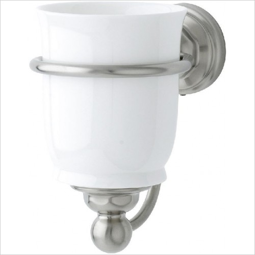 Perrin and Rowe Accessories - Traditional Single Tumbler Holder