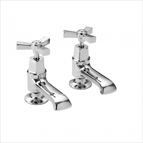Heritage Taps - Gracechurch Deco Basin Taps