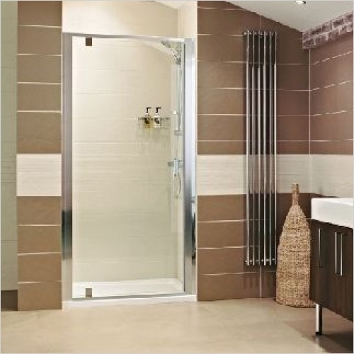 Roman Shower Enclosures - Lumin8 Pivot Door 760mm