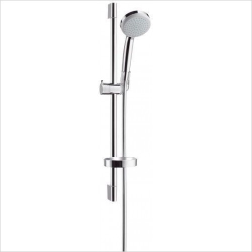 Hansgrohe Showers - Croma 100 EcoSmart Vario/Unica'C Shower & Hand Set 0.65m