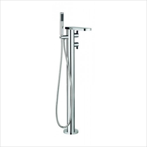 Crosswater Showers - Wisp Floorstanding Bath Shower Mixer With Kit