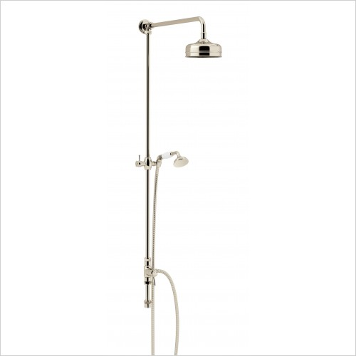 Heritage Showers - Fixed Kit With Diverter To Handset