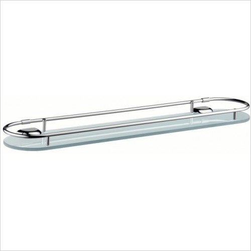Axor Accessories - Terrano Glass Shelf 700mm