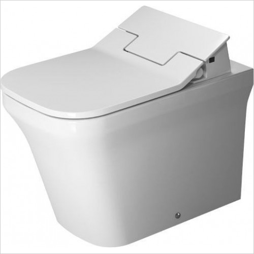 Duravit - Toilets - P3 Comforts Toilet Floorstanding 600mm Washdown Back To Wall