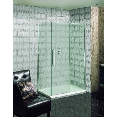 Simpsons Shower Enclosures - Ten Single Slider Door 1200mm
