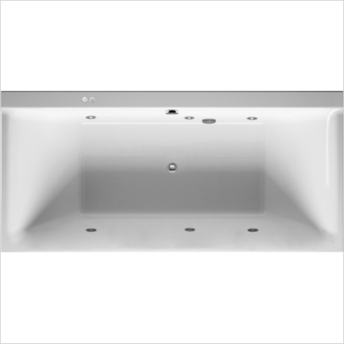 Duravit Baths - P3 Comforts Whirltub 1900x900mm, , Built-In Or For Panel