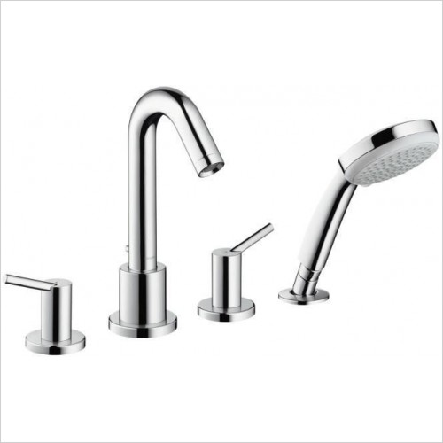 Hansgrohe Showers - Talis S2 4 Hole Rim Mounted Bath Shower Mixer