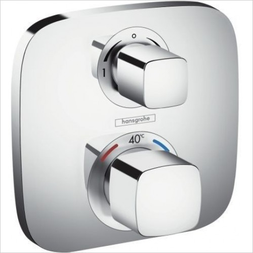 Ecostat E Thermostat Concealed Valve with 2 Outlets