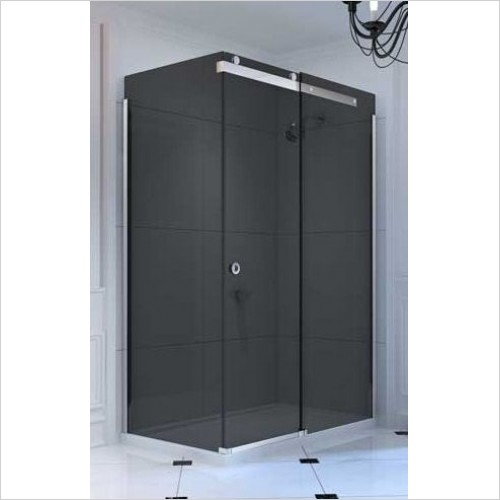 Merlyn Shower Enclosures - 10 Series Sliding Door Side Panel 900mm