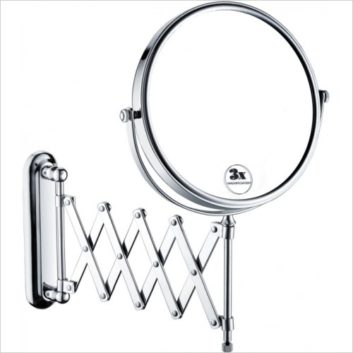 Bristan Accessories - Extending Shaving Mirror