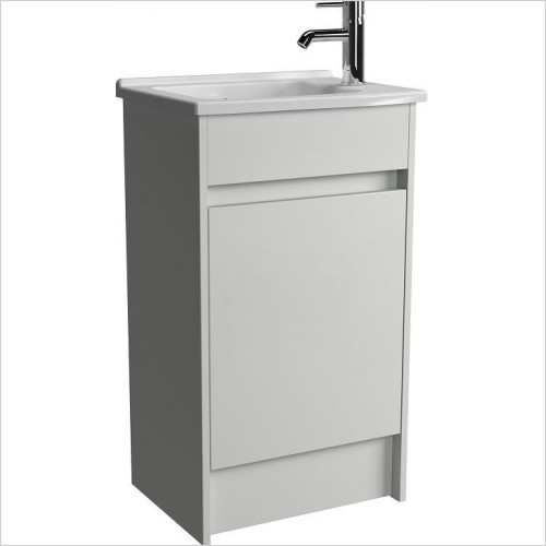 Vitra Furniture - S50 Floor Standing Washbasin Unit 50cm Including Basin