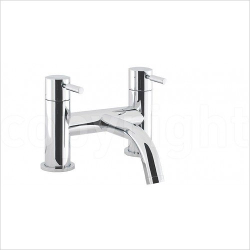 Crosswater Taps - Design Bath Filler, Deck Mounted