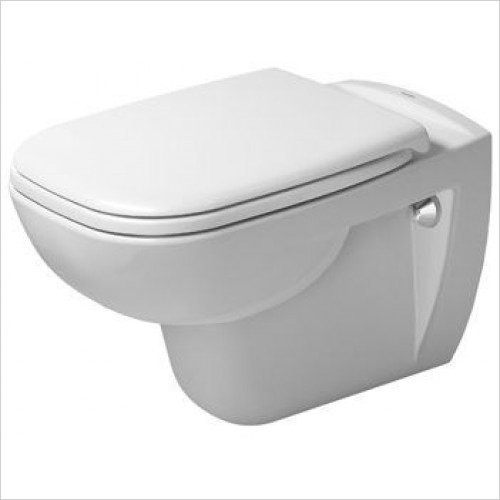 Duravit - Toilets - D-Code Toilet Wall Mounted 540mm Washdown