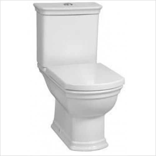 Vitra Toilets - Serenada Close-Coupled Open Back WC Pan