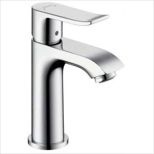 Hansgrohe Taps - Metris Basin Mixer 100 Small Without Rod