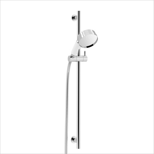 Heritage Showers - Deluxe Flexible Shower Kit In Chrome