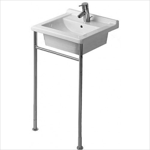 Duravit - Basins - Starck 3 Metal Console Height Adjustable