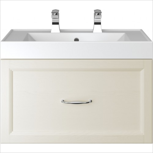 Heritage Furniture - Caversham Wall Hung Vanity Unit 1 Drawer