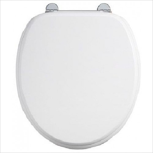 Burlington Toilets - Bar Hinge Toilet Seat