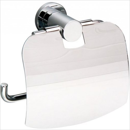 Miller Accessories - Montana Toilet Roll Holder With Lid
