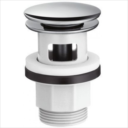 Hansgrohe Optional Extra - Basin Waste Push Open