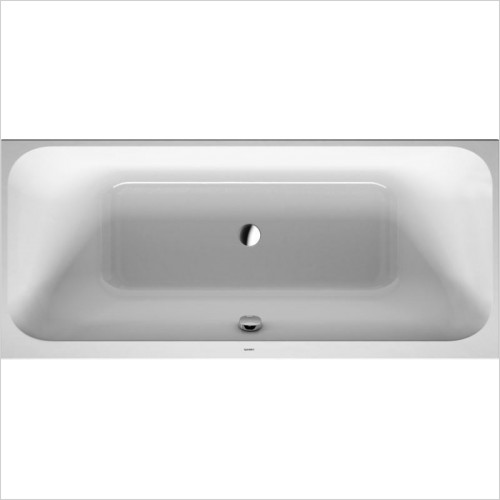 Duravit Baths - Happy D.2 Bathtub 1900x900mm Built-In Incl Support Frame