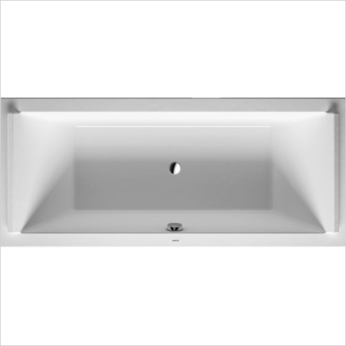 Duravit Baths - Starck Bathtub 1800x800mm Built-In Or For Panel