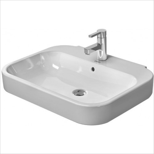 Duravit - Basins - Happy D.2 Washbasin 600mm 3TH