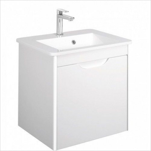 Solo F Vanity Unit Single Drawer 550mm