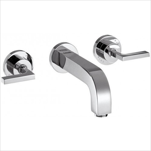 Axor Taps - Citterio 3-Hole Basin/Bath Mixer With Lever Handles