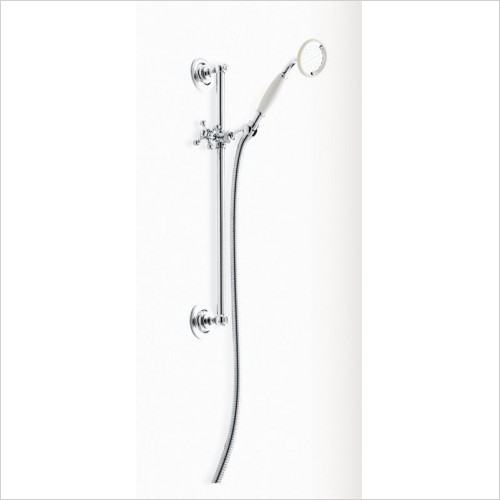 Heritage Showers - Flexible Showering Set In Chrome