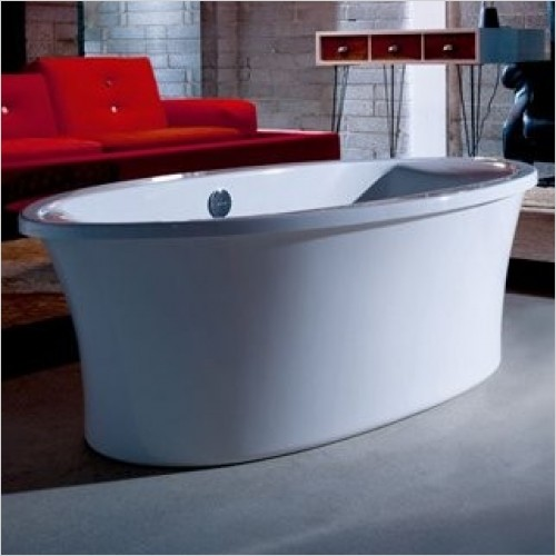 Adamsez Baths - Elipta Advance Freestanding Bath 1900x900mm