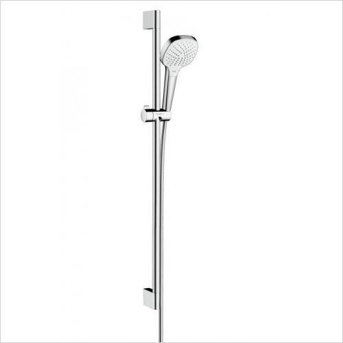 Hansgrohe Showers - Croma Select E Vario Unica Shower Head and Rail Set 90cm