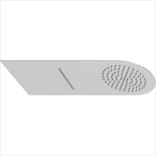 VADO Showers - Aquablade Slimline Round Shower Head