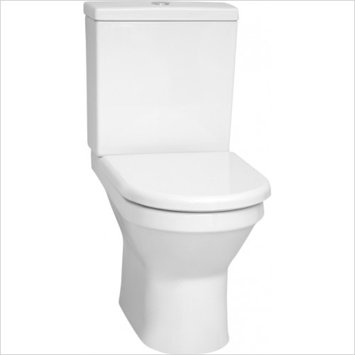 Vitra Toilets - S50 Rimless Close-Coupled WC Pan
