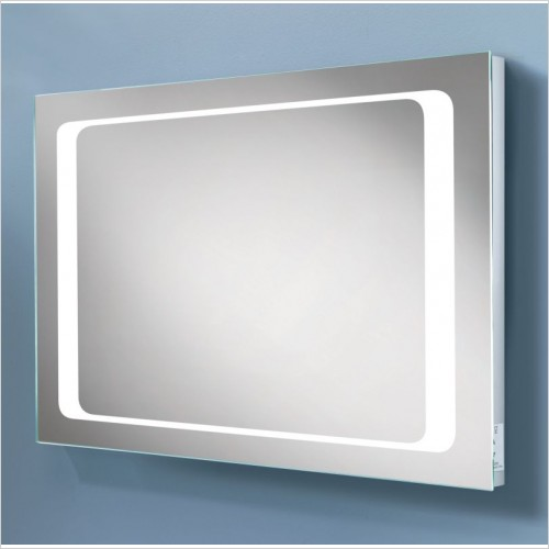 HIB Accessories - Axis LED Backlit Mirror 60 x 80 x 5.5cm